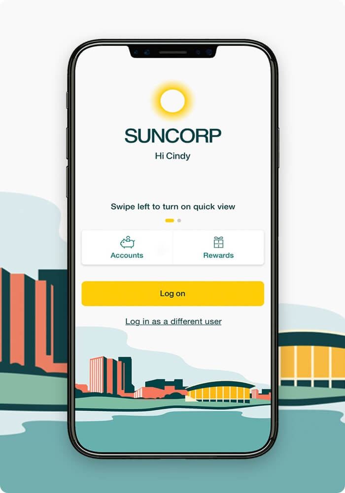 Our work Suncorp App image