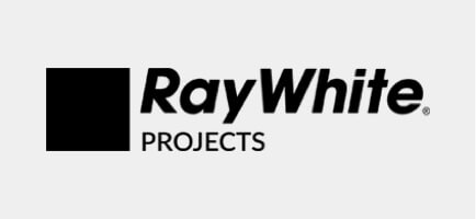 we've designed for Ray White Projects logo