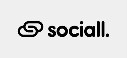 we've designed for Sociall logo
